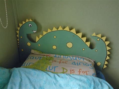 Where Can I Buy A Headboard For My Bed by A Dinosaur Headboard I Made For My S Bedroom Elijah