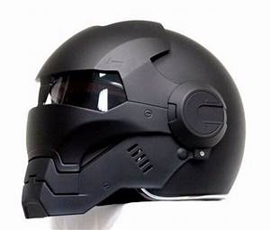 Casque Moto Futuriste : casco elmetto black panther iron man motorcycle helmet hero abs auto new m xl ebay ~ Melissatoandfro.com Idées de Décoration