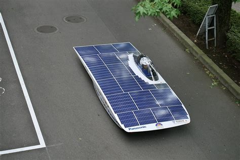 Solar Car by Panasonic Is Supporting The Tokai Solar Car