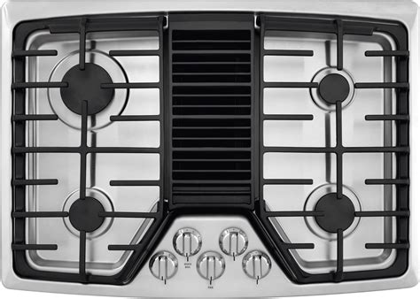 downdraft exhaust fan for cooktop rc30dg60ps frigidaire 30 quot gas cooktop with downdraft