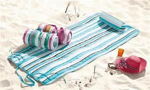 Strandmatte Mit Rückenlehne : crivit beach strandmatte mit nackenrolle von lidl ansehen ~ A.2002-acura-tl-radio.info Haus und Dekorationen