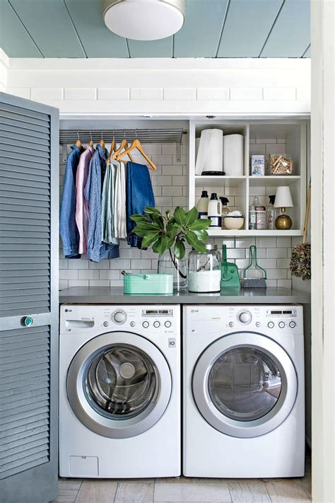 Cheap Renovation Ideas For Kitchen - 15 laundry closet ideas to save space and get organized