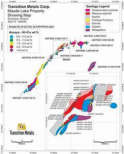 Transition Reports High Grade Channel Sample Results at ...