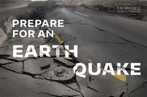 How To Prepare For An Earthquake  The Whole U