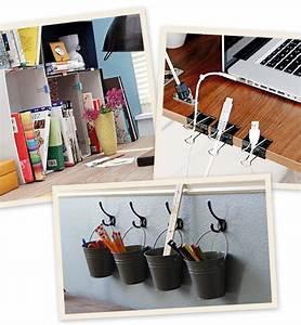 Ranger Son Bureau : 5 diy pour organiser votre bureau ~ Zukunftsfamilie.com Idées de Décoration