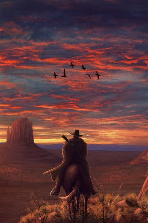 red dead redemption  fanart  iphone  iphone  hd  wallpapers images