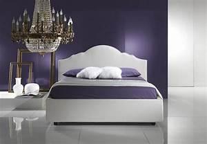 Idee Deco Tete De Lit : 25 id es de d coration chambre violet l gante d couvrir ~ Melissatoandfro.com Idées de Décoration