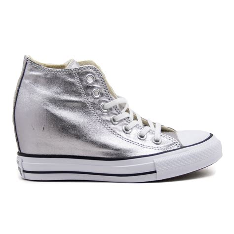 Converse All Zeppa Interna by Converse All 555152c Sneaker Mid Con Zeppa Interna