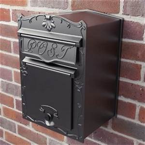 articles on the uses of letter boxes and post boxes With wall mounted letter box