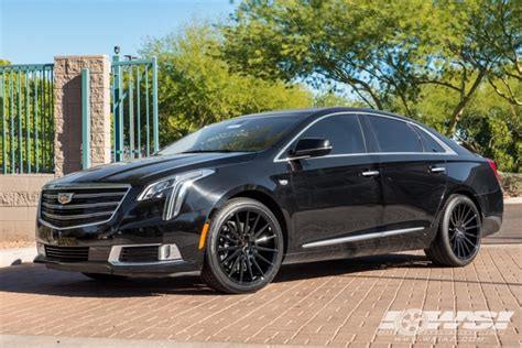 cadillac xts rims 2018 cadillac xts with 20 quot gianelle verdi in gloss black