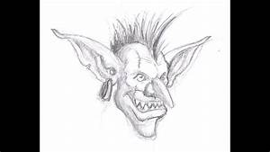 How To Draw A Goblin