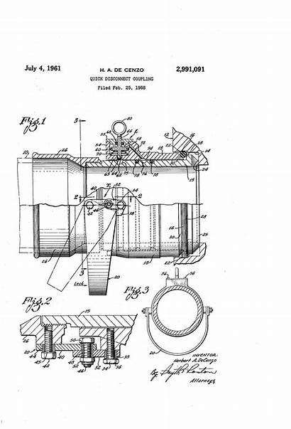 Coupling Patents Patent Quick Drawing Disconnect