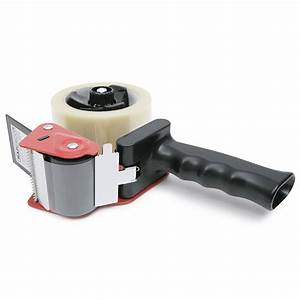 960 Tape Dispenser With 2 Clear Packing Tapes  U0026 Knife