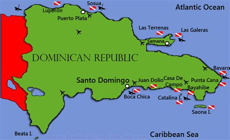 map  dominican republic dominican republic maps