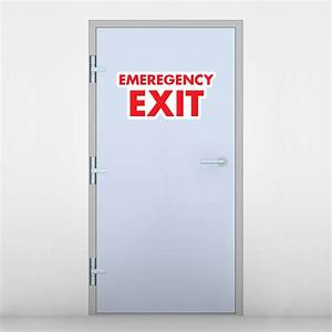 Emergency Exit Signs Emergency Exit Stickers