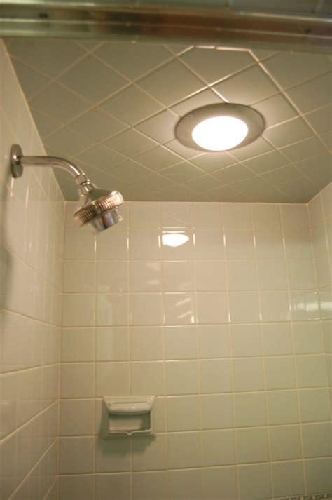 blue bathroom  built  hall mack nutone