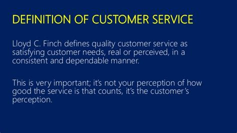 Definition Of Customer Service Exle by Excellent Service Customer Service