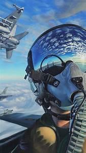 wallpaper pilot fighter aircraft artwork 4k 20318