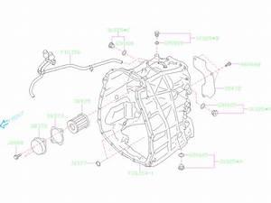 Subaru Impreza Bolt Seal  Case  Converter  Transmission