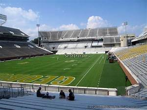 Gt Football Seating Chart Bobby Dodd Stadium Section 132 Rateyourseats Com