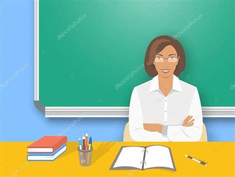 bureau de l education catholique femme professeur école à l 39 illustration de l 39 éducation