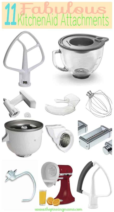 kitchenaid mixer attachments aid kitchen attachment stand need accessories fabulous probably mixers tools aide they thepinningmama mixing using artisan things