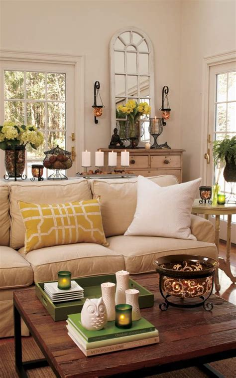 Tiffany Blue Living Room Accessories by Natural Living Room Designs