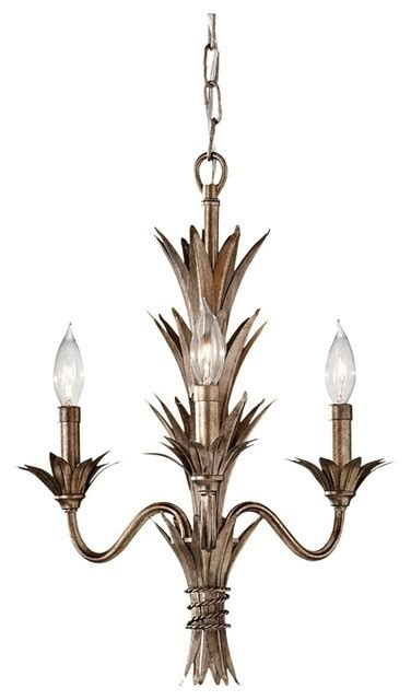 Hawaiian Chandelier by Stardust Flora 3 Light 1 Tier Mini Chandelier