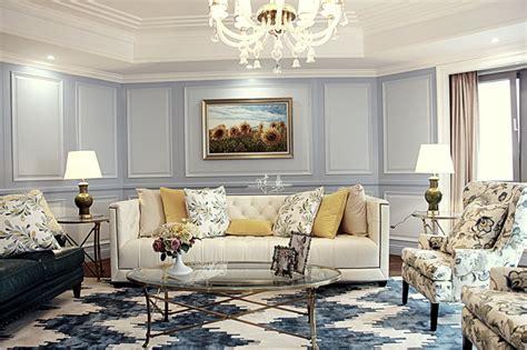 The Elegant Living Room Europeanstyle Home Design2