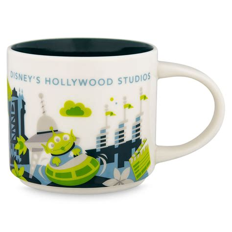 Instead, i might have to settle for savoring my favorite warm drink from one of these official starbucks disney parks mugs! Disney Parks Starbucks You Are Here Hollywood Studios Coffee Mug 3rd A - I Love Characters