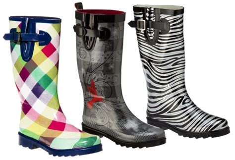 Our Frugal Happy Life Women's And Kids' Rain Boots On