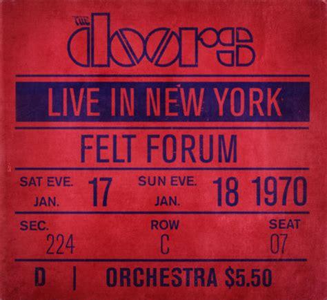 ny live live in new york the doors live album