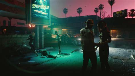 wallpaper cyberpunk    screenshot  games