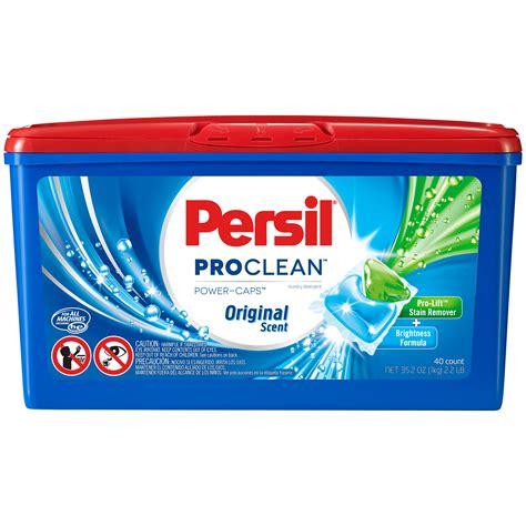 persil proclean power caps original scent detergent