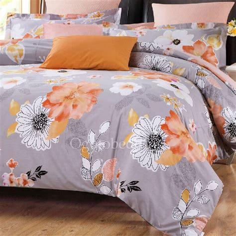 orange duvet covers twin retro cover  gray