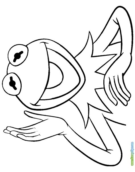 kermit  frog coloring pages coloring pages