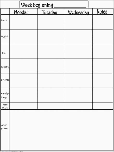 editable  week planner sampletemplatess