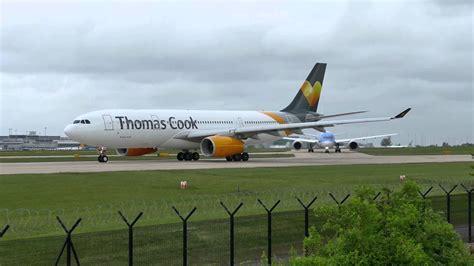 Thomas Cook A330 G-VYGK & Thomson Dreamliner B787-8 G-TUIE ...
