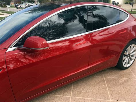 2018 Tesla Model 3 Tri Red  A Miracle Detailing