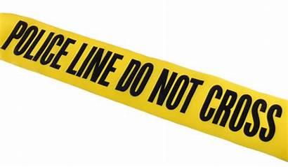 Tape Caution Crime Clipart Scene Border Danger