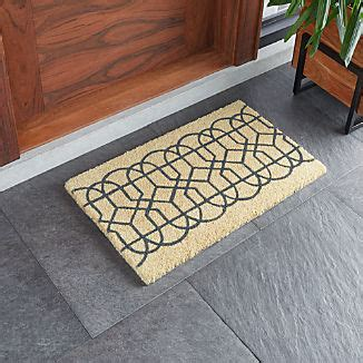 Crate And Barrel Doormat by Door Mats And Boot Trays For Indoor Outdoor Crate And Barrel