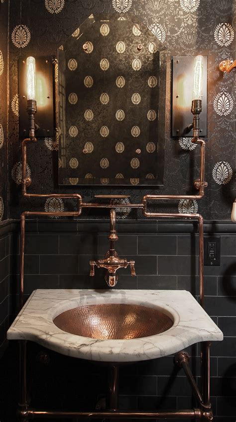 san francisco residential architect andre rothblatt garners attention  steampunk bathroom