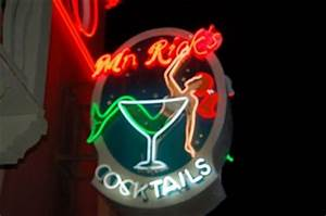 Mr Ricks Avila Beach California Neon Signs on