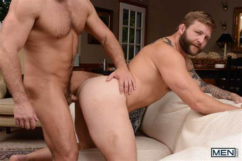 Muscle Stud Drill His Friend And A Tgirl