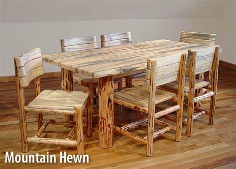 log table and chairs log furniture plans free download furnitureplans