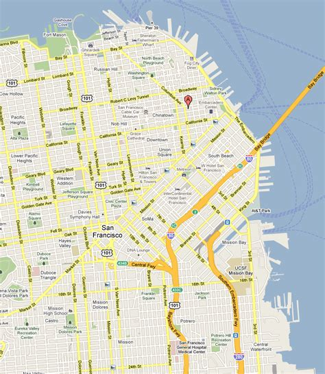 automatic generation of destination maps