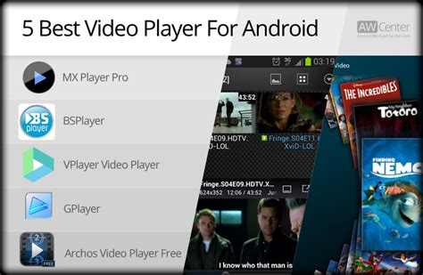 best player for android 5 best player for android