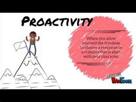 habit   proactive covey youtube