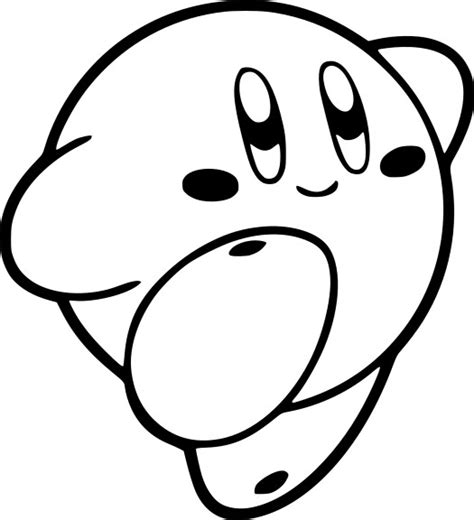 coloriage kirby  imprimer