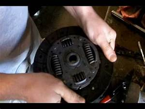 How A Clutch Disc Works With Flywheel  U0026 Pressure Plate